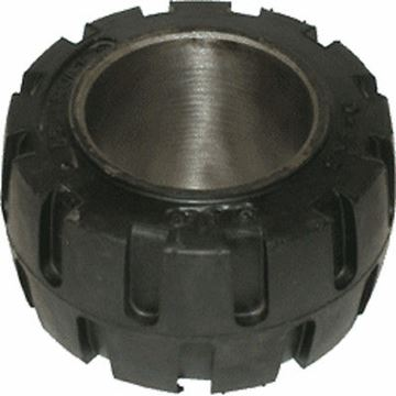 Picture of 10 X 4 X 6.5  Forklift Tire Rubber - Traction - (#111326518357)