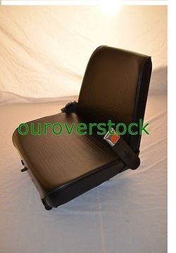 Picture of Forklift Seat - Universal - Vinyl - New - Cheap Freight with Seat Belt (#111690314852)