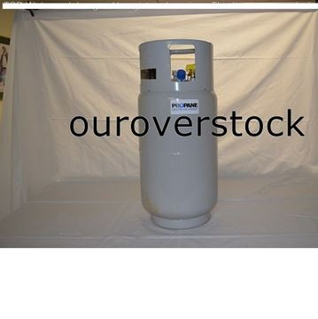 Picture of FORKLIFT LPG STEEL LP PROPANE TANK 33.5 lbs -FORK LIFT TRUCK CYLINDER USA MADE (#111705404495)