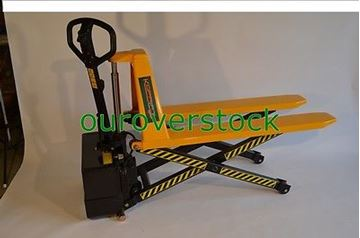 "Picture of Electric Scissor High Lift Pallet Jack Truck 3,300 lb 20.5"" x 45"" (#111734292085)"