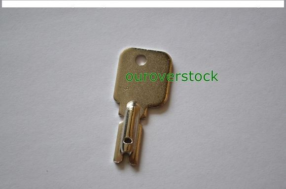 NEW CLARK FORKLIFT KEY CURVED POLLOCK CAT HYSTER YALE TOYOTA HILO  (#111996463899)