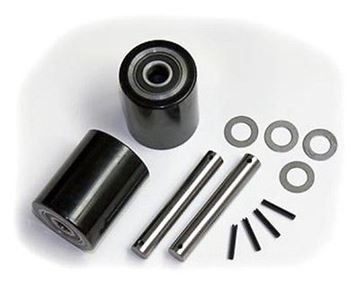 Picture of Atlas Zenith (Type 9) Pallet Jack Load Wheel Kit (Includes All Parts Shown) (#121985635868)