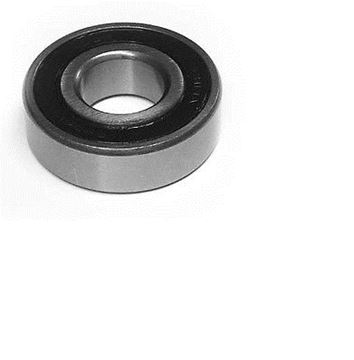 Picture of (Qty 1) 6204-2RS two side rubber seals bearing 6204 rs ball bearings 6204rs (#131532104348)