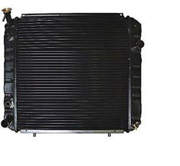 Picture of HYSTER YALE FORKLIFT ALUMINUM RADIATOR 1375909 2038182 580013390 580013391 (#131600314212)