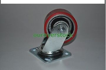 "Picture of 4"" x 2"" Poly Caster with Swivel (#112302707064)"
